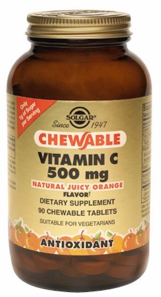 Image of Vitamin C 500 mg Chewable Juicy Orange