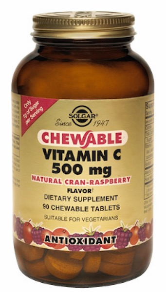 Image of Vitamin C 500 mg Chewable Cran-Raspberry