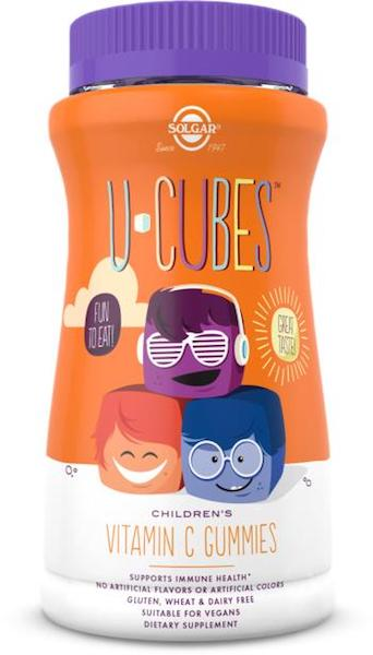 Image of U-Cubes Children's Vitamin C 125 mg Gummies