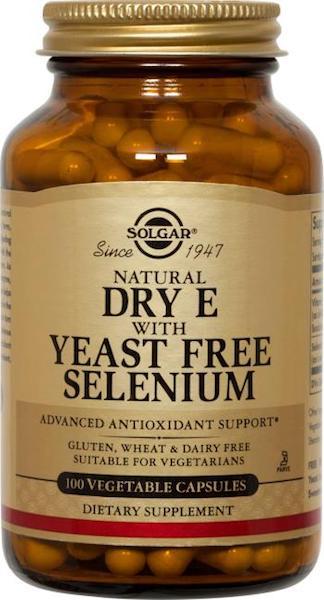 Image of Dry Vitamin E with Yeast Free Selenium 250 mg/75 mcg