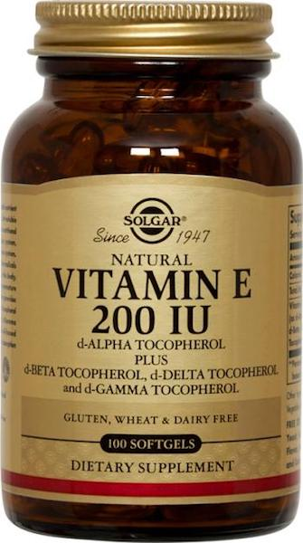 Image of Vitamin E 200 IU Mixed Tocopherols