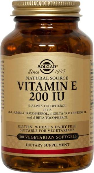 Image of Vitamin E 200 IU Mixed Tocopherols Vegetarian Softgel