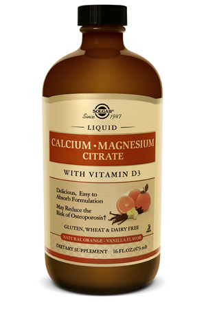 Image of Liquid Calcium Magnesium Citrate with Vitamin D3 Orange Vanilla