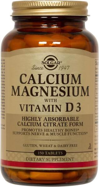 Image of Calcium Magnesium with Vitamin D3 200/100 mg/80 IU Tablet