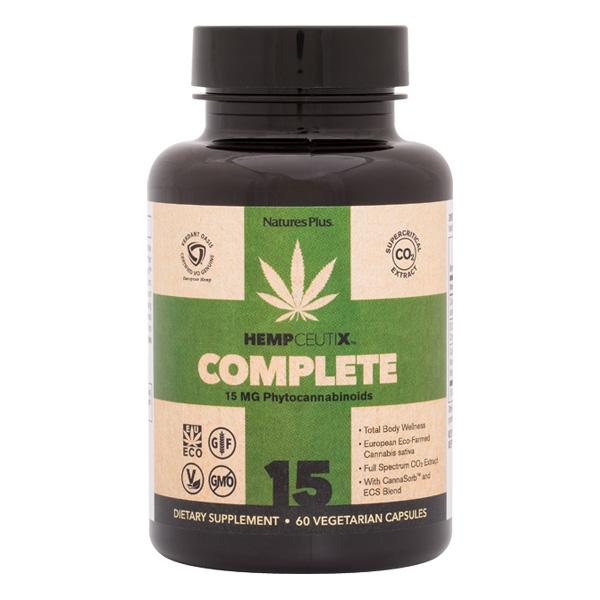Image of HempCeutix Complete 15 mg Capsules