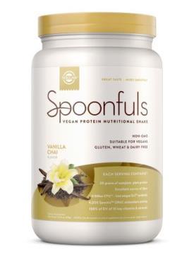 Image of Spoonfuls Vegan Protein Pwder Vanilla Chai