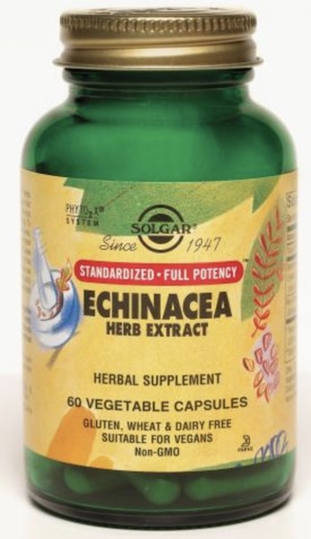 Image of Echinacea Herb Extract 425 mg (Standardized Full Potency)