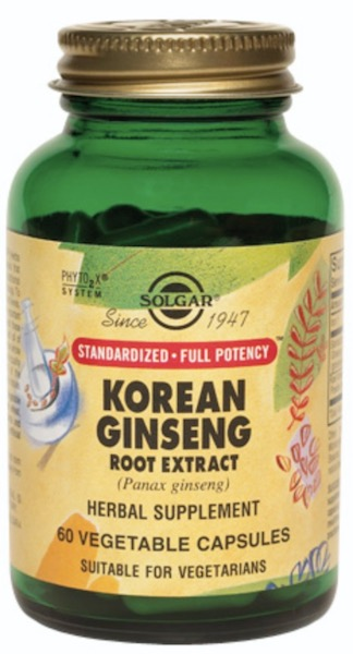 Image of Korean Ginseng Root Extract 450 mg (Standardized Full Potency)