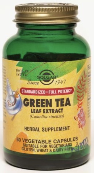 Image of Green Tea Leaf Extract 500 mg (Standardized Full Potency)