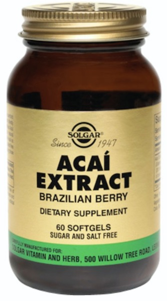 Image of Acai Extract 25 mg (Brazilian Berry)