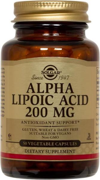 Image of Alpha Lipoic Acid 200 mg