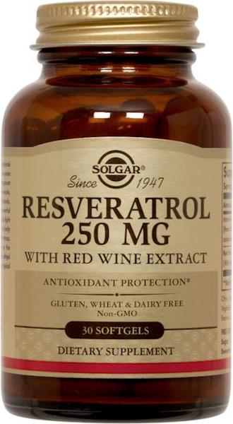 Image of Resveratrol 250 mg with Red Wine Extract