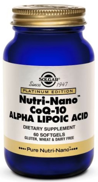 Image of CoQ10 Alpha Lipoic Acid Nutri-Nano 45/50 mg