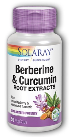 Image of Berberine & Curcumin Root Extract 300/300 mg