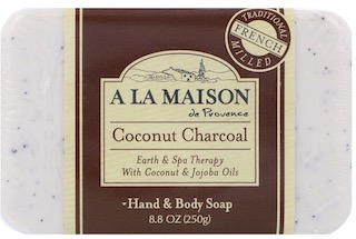 Image of Bar Soap Coconut Charcoal