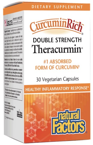 Image of CurcuminRich Theracurmin Double Strength Turmeric 60 mg