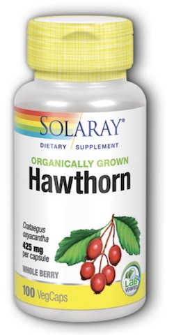 Image of Hawthorn Berry 425 mg Organic
