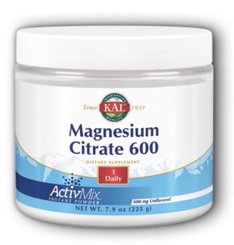 Image of Magnesium Citrate 600 Powder