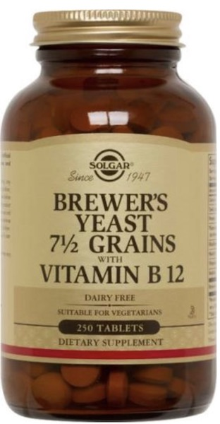 Image of Brewer's Yeast 7 1/2 Grains with Vitamin B12