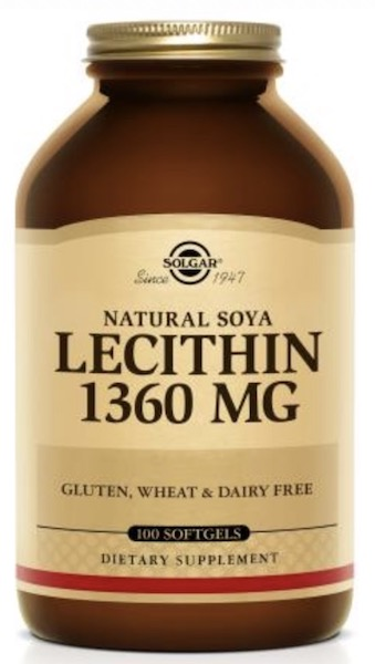 Image of Lecithin 1360 mg (Natural Soya)