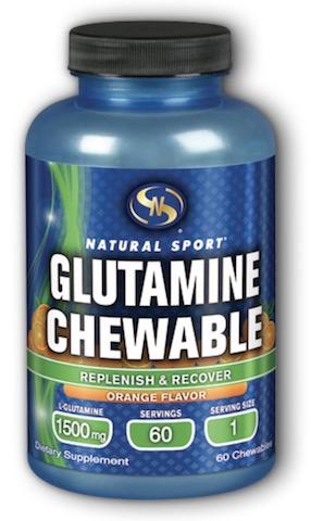 Image of Glutamine Chewable 1500 mg Orange