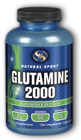 Image of Glutamine 2000 (667 mg each capsule)