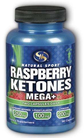 Image of Raspberry Ketones Mega+ 125 mg