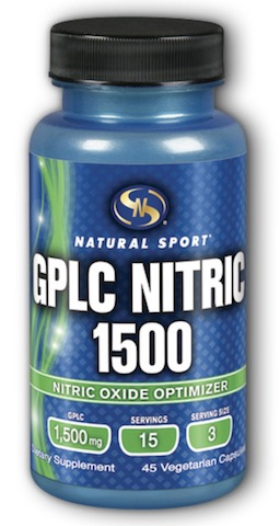 Image of GPLC Nitric 1500 (500 mg each capsule)