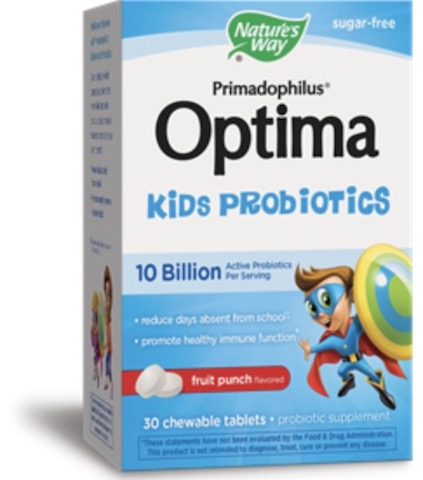 Image of Primadophilus Optima Kids Probiotic 10 Billion Chewable