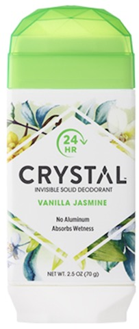 Image of Crystal Deodorant Invisible Solid Stick Vanilla Jasmine