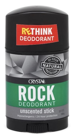 Image of Crystal Rock Stick Body Deodorant (Wide Stick)