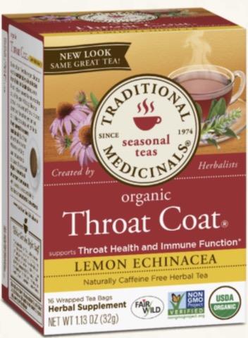 Image of Throat Coat Tea LEMON ECHINACEA