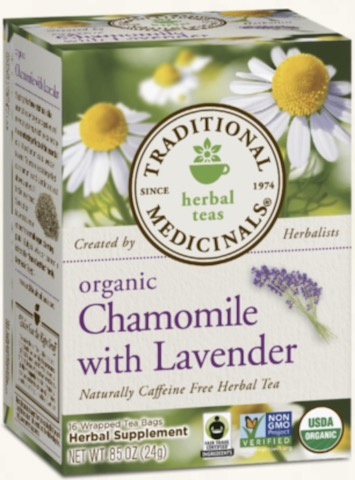 Image of Chamomile Tea with Lavender