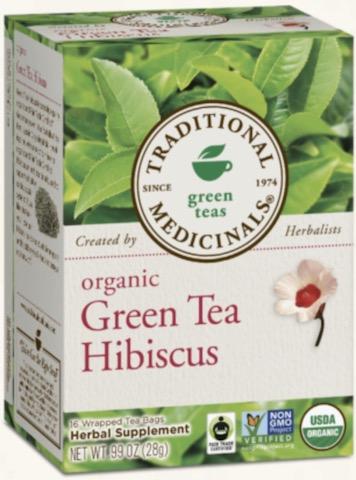 Image of Green Tea HIBISCUS