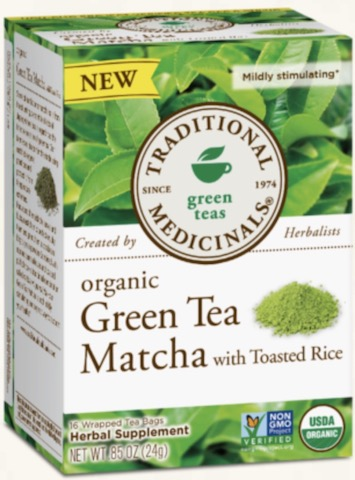 Image of Green Tea MATCHA with Toasted Rice