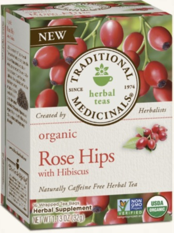 Image of Rose Hips with Hibiscus Tea