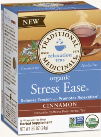 Image of Stress Ease Cinnamon Tea