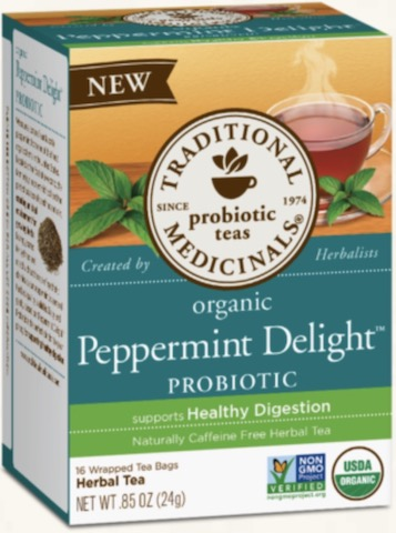 Image of Peppermint Delight Probiotic Tea