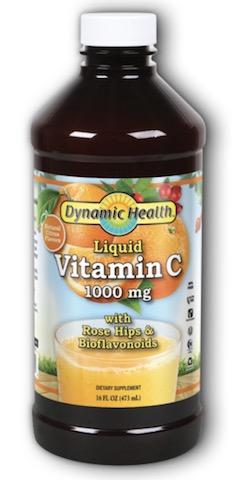 Image of Vitamin C 1000 mg Liquid with Rose Hips & Bioflavonoids