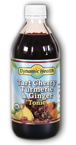 Image of Tart Cherry Turmeric & Ginger Tonic Liquid Organic