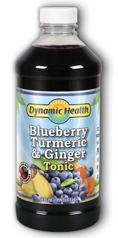 Image of Blueberry Turmeric & Ginger Tonic Liquid (plastic bottle)