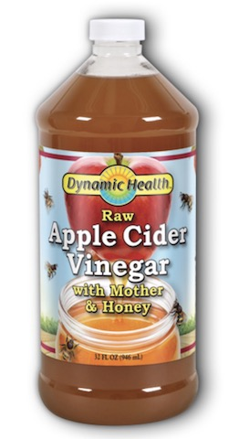 Image of Apple Cider Vinegar with Mother and Honey Liquid