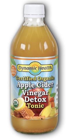 Image of Apple Cider Vinegar Detox Tonic Liquid Organic