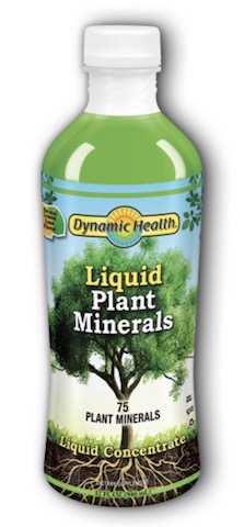 Image of Plant Minerals Concentrate Liquid Lemon Lime