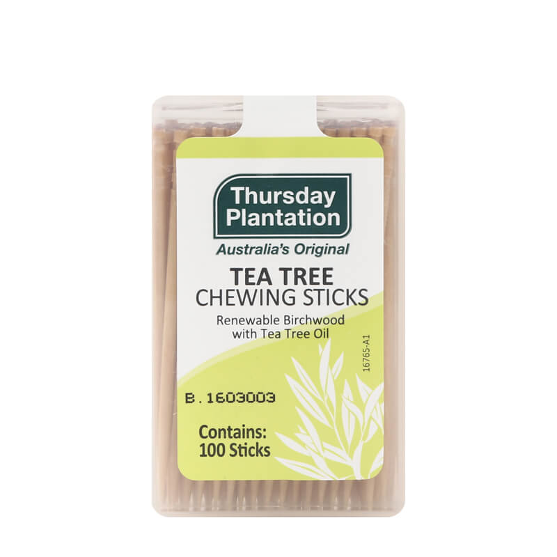 Image of Tea Tree Chewing Sticks Original