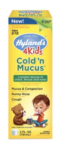 Image of 4 Kids Cold 'n Mucus Liquid
