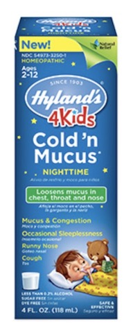 Image of 4 Kids Cold 'n Mucus Nighttime Liquid