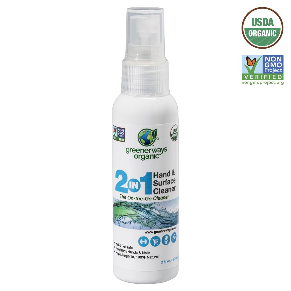 Image of ECO TIZER On-The-Go Hand & Surface Cleaner