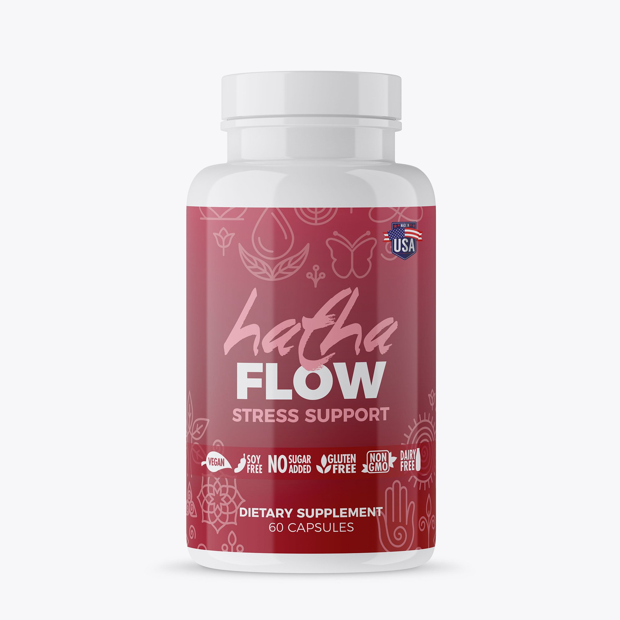 Image of Hatha Flow Stress Support