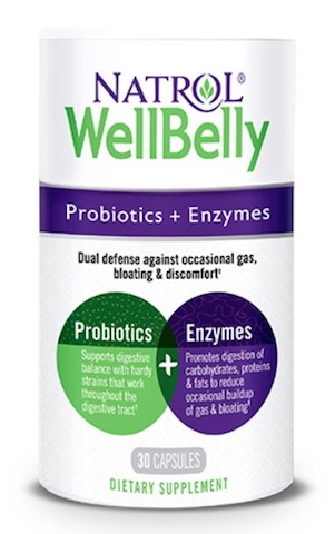 Image of Well Belly Probiotics + Enzymes (5 Billion 3 Strains)